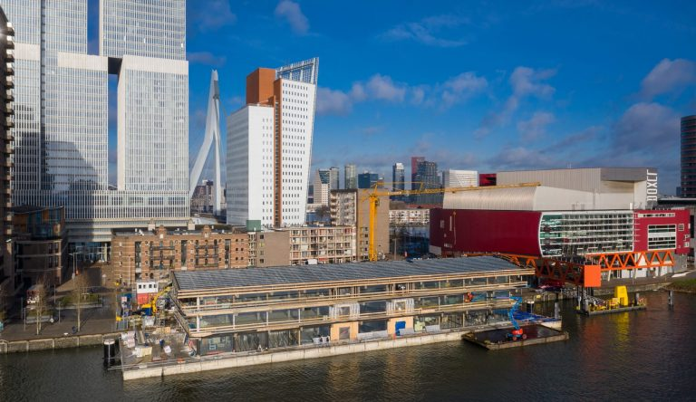 Floating Office Rotterdam Schilt bedrijven view
