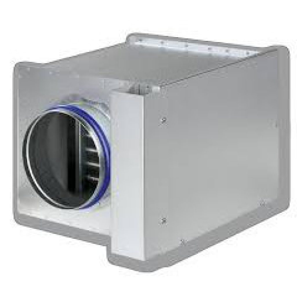 Naverwarmer uit het TROX leveringsprogramma
