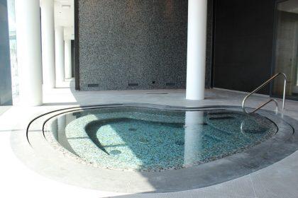 Optimaal binnenklimaat in het zwembad van het Hilton Hotel